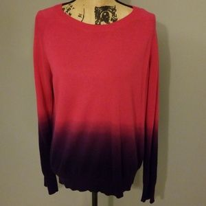 Ombre sweater by Noir